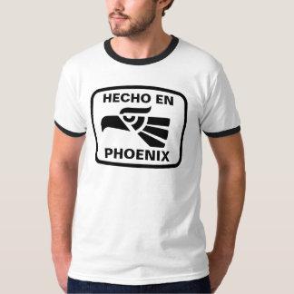 Hecho en Phoenix personalizado custom personalized Tee Shirt