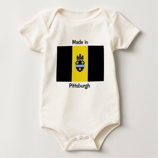 Hecho en Pittsburgh Body Para Bebé