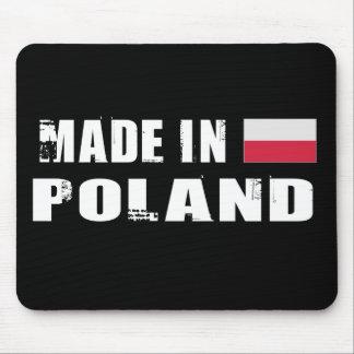 Hecho en Polonia Alfombrilla De Ratones
