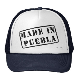 Hecho en Puebla Gorros Bordados