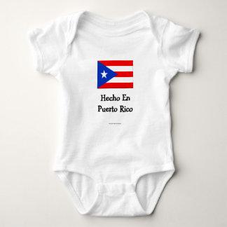 Hecho En Puerto Rico Infant Creeper