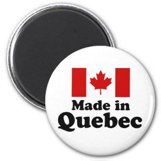 Hecho en Quebec Imán De Frigorífico