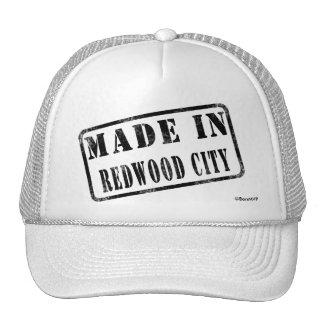 Hecho en Redwood City Gorra