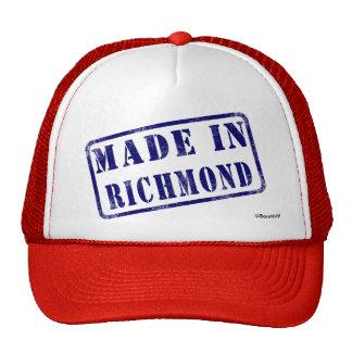 Hecho en Richmond Gorro De Camionero