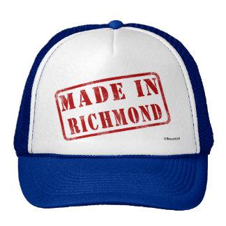 Hecho en Richmond Gorros