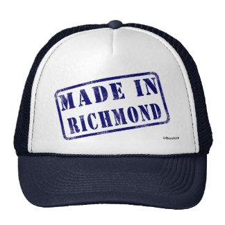 Hecho en Richmond Gorros Bordados