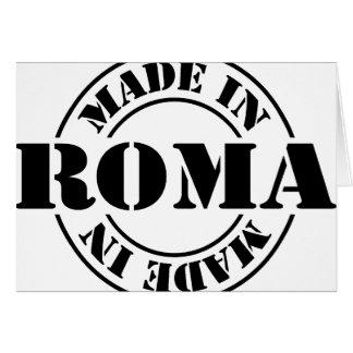 Hecho en Roma Tarjeta De Felicitación