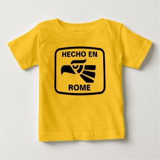 Hecho en Rome personalizado custom personalized Shirt