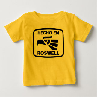 Hecho en Roswell personalizado custom personalized Infant T-shirt