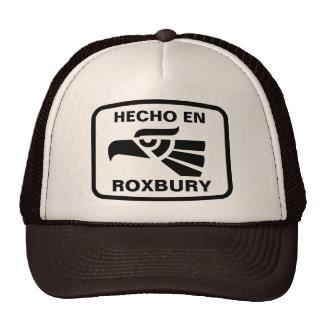 Hecho en Roxbury personalizado custom personalized Trucker Hat