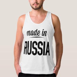 Hecho en Rusia Playera De Tirantes American Apparel De Jersey Fin