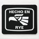 Hecho en Rye personalizado custom personalized Mouse Pads