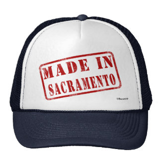 Hecho en Sacramento Gorra