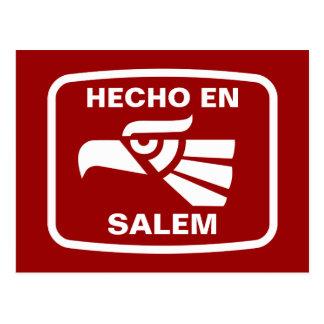 Hecho en Salem  personalizado custom personalized Postcard