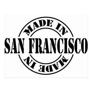 Hecho en San Francisco Tarjetas Postales