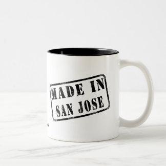 Hecho en San Jose Taza De Dos Tonos