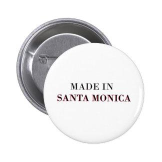 Hecho en Santa Mónica Pin Redondo 5 Cm