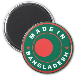 hecho en sello de la etiqueta de la bandera de paí imán redondo 5 cm
