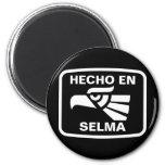 Hecho en Selma personalizado custom personalized Fridge Magnets