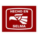 Hecho en Selma personalizado custom personalized Post Cards