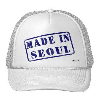 Hecho en Seul Gorros Bordados