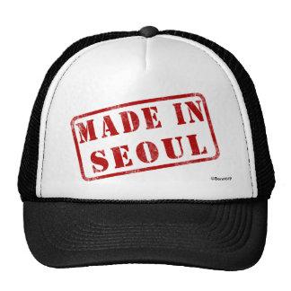 Hecho en Seul Gorras