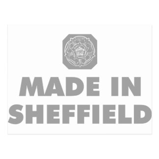 Hecho en Sheffield Tarjetas Postales