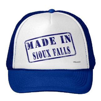 Hecho en Sioux Falls Gorras De Camionero
