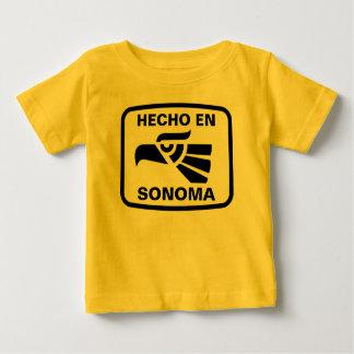 Hecho en Sonoma personalizado custom personalized Baby T-Shirt