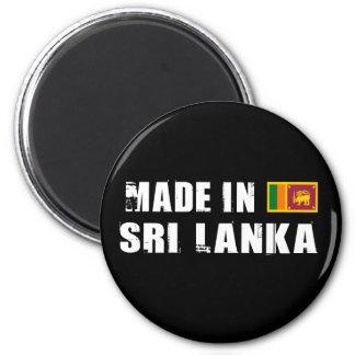 Hecho en Sri Lanka Imán Redondo 5 Cm