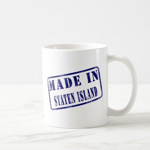 Hecho en Staten Island Taza Clásica
