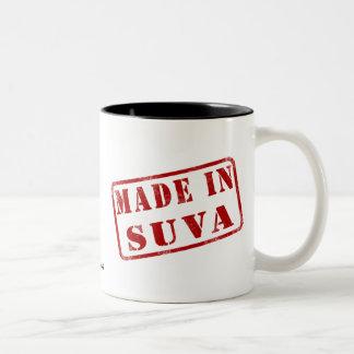 Hecho en Suva Taza De Dos Tonos