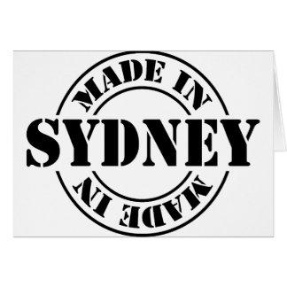 Hecho en Sydney Tarjeta De Felicitación