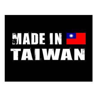 Hecho en Taiwán Tarjeta Postal