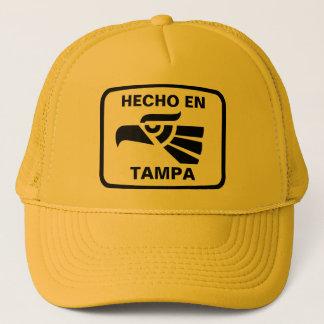 Hecho en Tampa personalizado custom personalized Trucker Hat