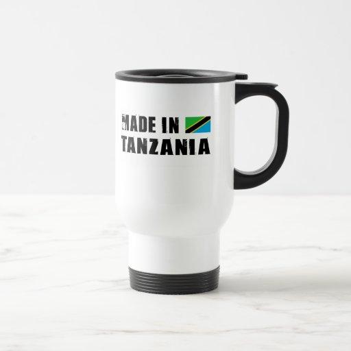 Hecho en Tanzania Tazas
