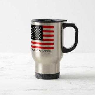 Hecho en taza de café de América