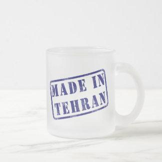 Hecho en Teherán Tazas