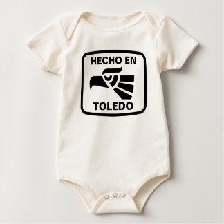 Hecho en Toledo personalizado custom personalized Bodysuit