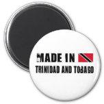 Hecho en Trinidad and Tobago Imán De Frigorífico