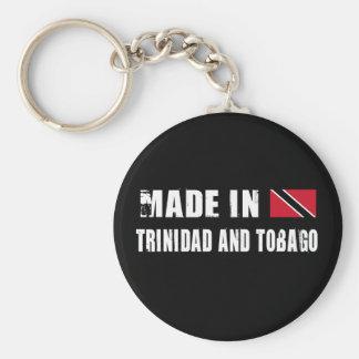 Hecho en Trinidad and Tobago Llavero