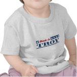 Hecho en Troy NY Camiseta
