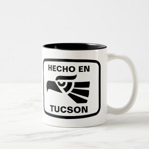 Hecho en Tucson personalizado custom personalized Two-Tone Coffee Mug