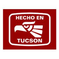 Hecho en Tucson personalizado custom personalized Postcard