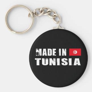 Hecho en Túnez Llavero Redondo Tipo Pin