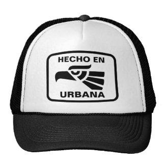 Hecho en Urbana  personalizado custom personalized Trucker Hat