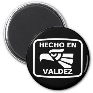 Hecho en Valdez  personalizado custom personalized 2 Inch Round Magnet