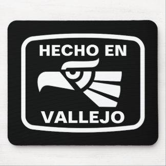 Hecho en Vallejo personalizado custom personalized Mouse Pads