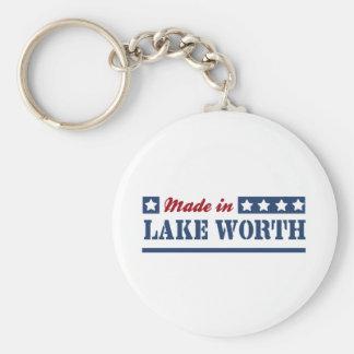 Hecho en valor del lago llavero personalizado