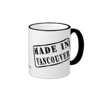 Hecho en Vancouver Taza De Café